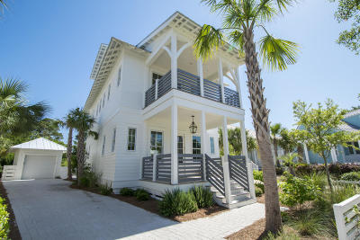 Panama City Beach, West Panama City Beach Single Family Home For Sale: 104 Parkshore Drive