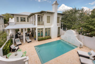 Rosemary Beach Single Family Home For Sale: 103 Kingston Road