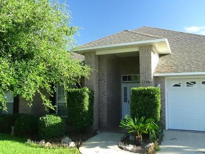 Single Family Home For Sale: 1730 Turkey Oak Drive