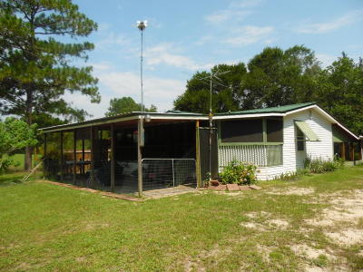Defuniak Springs Single Family Home For Sale: 1401 Martin Road