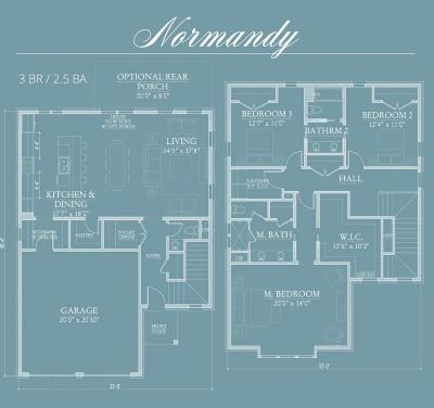 Santa Rosa Beach Single Family Home For Sale: Lot 11-A Ridgewalk Circle #Normandy