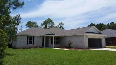 Defuniak Springs Single Family Home For Sale: Lot 15 N N Pleasant Drive