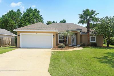 Santa Rosa Beach Single Family Home For Sale: 158 White Heron Drive