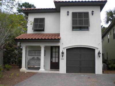 Miramar Beach Single Family Home For Sale: 1888 Baytowne Loop