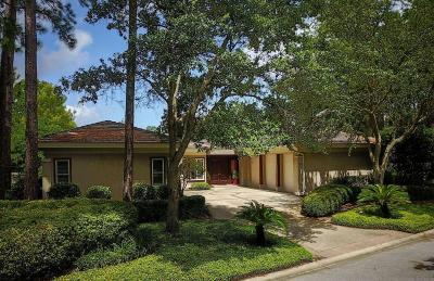 Miramar Beach Single Family Home For Sale: 2996 Bay Villas Court
