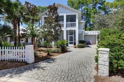 Santa Rosa Beach Single Family Home For Sale: 352 Cassine Garden Circle