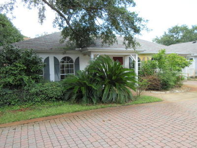 Destin Single Family Home For Sale: 3863 Indian Trail #UNIT 103
