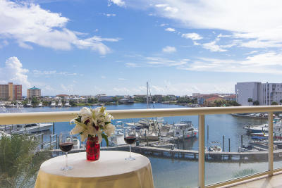 Destin Condo/Townhouse For Sale: 770 Harbor Boulevard #UNIT 2H