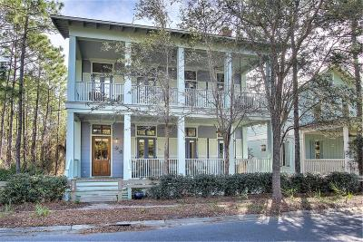 Santa Rosa Beach Single Family Home For Sale: 134 Spartina Circle