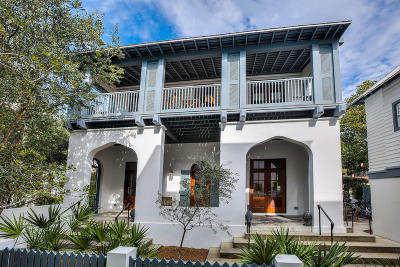 Rosemary Beach Single Family Home For Sale: 37 N Green Turtle Lane
