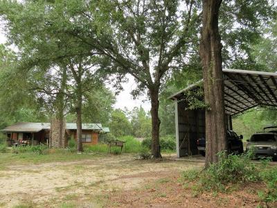 Defuniak Springs Single Family Home For Sale: 135 Jones Lane