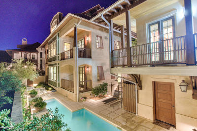 Rosemary Beach Single Family Home For Sale: 333 W Water Street