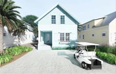 Santa Rosa Beach Single Family Home For Sale: TBD Lot 13 Dune Side Lane