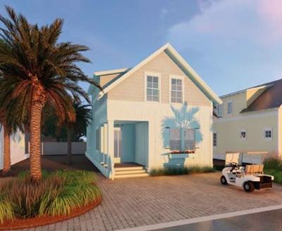 Santa Rosa Beach Single Family Home For Sale: TBD Lot 15 Dune Side Lane
