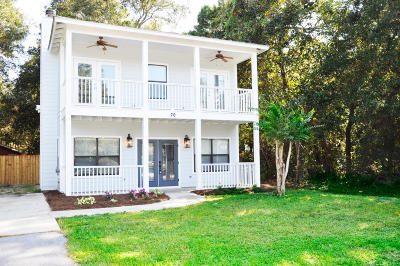 Santa Rosa Beach Single Family Home For Sale: 76 E Harborview Rd.
