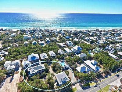 Inlet Beach Single Family Home For Sale: 90&98 Pinecrest Circle