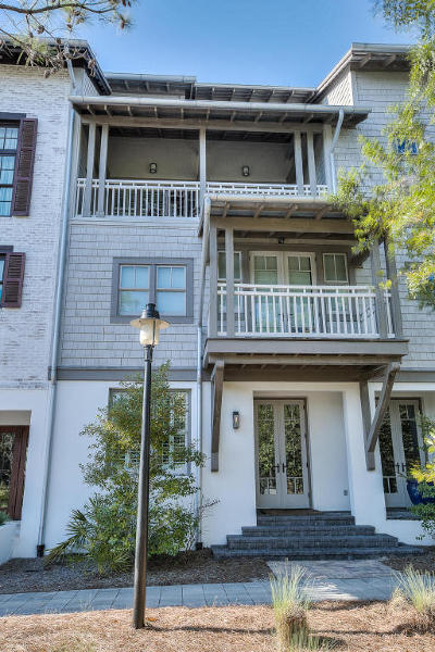 Rosemary Beach Single Family Home For Sale: 23 Johnstown Lane