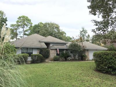 Niceville Single Family Home For Sale: 151 Baywind Drive