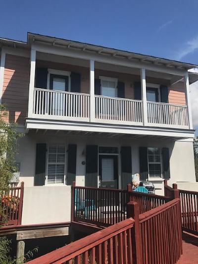 Santa Rosa Beach Single Family Home For Sale: 198 Somerset Bridge Road #UNIT 128