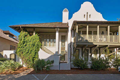 Rosemary Beach Single Family Home For Sale: 318 W Water Street