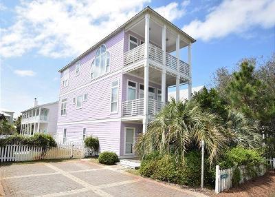 Santa Rosa Beach Single Family Home For Sale: 44 Seaward Drive