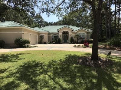 Miramar Beach Single Family Home For Sale: 1169 N Troon Drive
