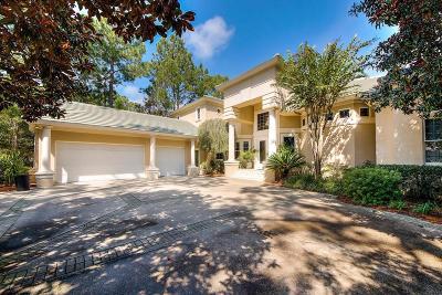 Miramar Beach FL Single Family Home For Sale: $1,495,000