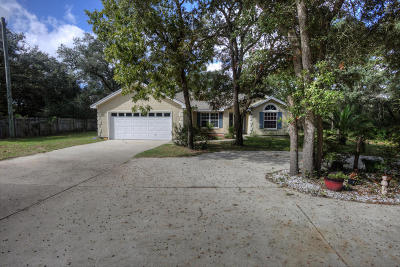 Panama City Beach Single Family Home For Sale: 8827 Crooked Creek Drive