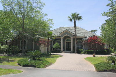 Destin Single Family Home For Sale: 4414 Stonebridge Road