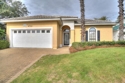 Destin Single Family Home For Sale: 4711 Lantana Lane