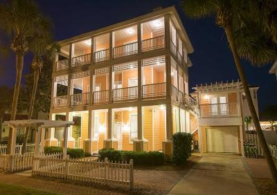 Destin Single Family Home For Sale: 4495 Ocean View Drive