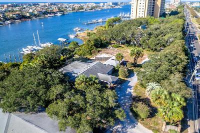 Destin Single Family Home For Sale: 718 & 710 Harbor Boulevard