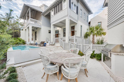 Rosemary Beach Single Family Home For Sale: 188 Round Road
