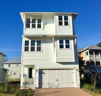 Inlet Beach Condo/Townhouse For Sale: 91 Grande Pointe Circle #Lot 37