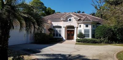 Destin Single Family Home For Sale: 233 Matties Way