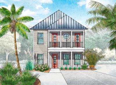 Santa Rosa Beach Single Family Home For Sale: Lot 68 Constant Avenue