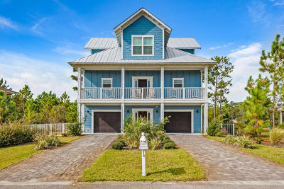 Santa Rosa Beach Single Family Home For Sale: 73 N Cypress Breeze Boulevard
