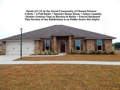 Crestview Single Family Home For Sale: 4748 Chanson Crossing