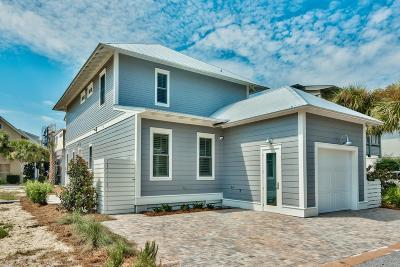 Santa Rosa Beach Single Family Home For Sale: Lot 123 Cypress Drive
