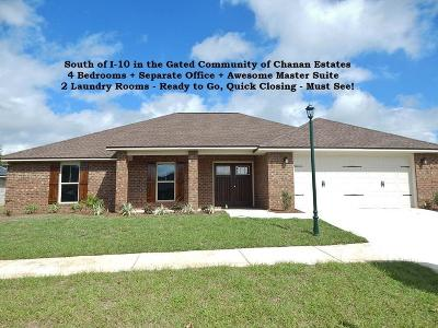 Crestview Single Family Home For Sale: 4744 Chanson Crossing