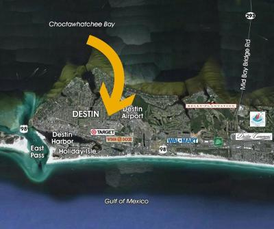 Destin Residential Lots & Land For Sale: 0.45 Airport Road