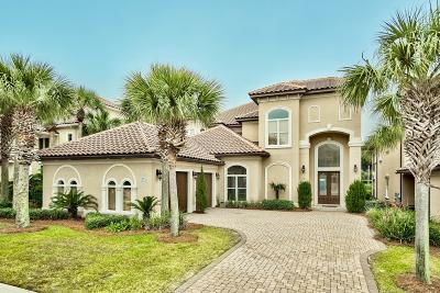 Destin Single Family Home For Sale: 16 St Barts Bay
