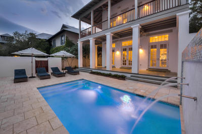 Rosemary Beach Single Family Home For Sale: 25 N Belize Lane