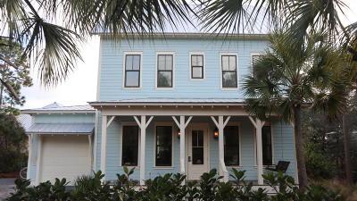 Santa Rosa Beach Single Family Home For Sale: 127 Lakewood Drive
