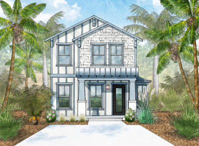 Santa Rosa Beach Single Family Home For Sale: Lot 22 Magical Place