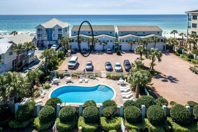 Crystal Beach Condo/Townhouse For Sale: 3050 Scenic Highway 98 #UNIT 2