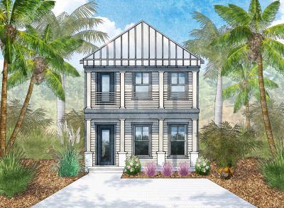 Santa Rosa Beach Single Family Home For Sale: Lot 80 Old Winston Circle