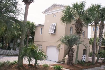 Panama City Beach Single Family Home For Sale: 210 Gulfcrest Lane
