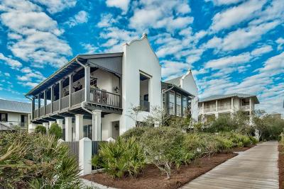 Rosemary Beach Single Family Home For Sale: 125 Hopetown Lane #19-2