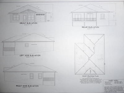 Crestview Single Family Home For Sale: Lot 1 Mary Lane